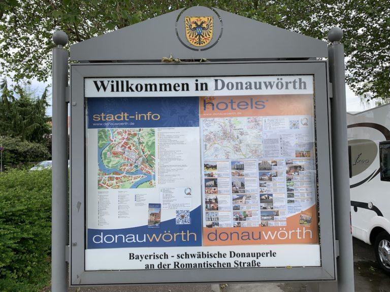 Stellplatz in Donauwörth