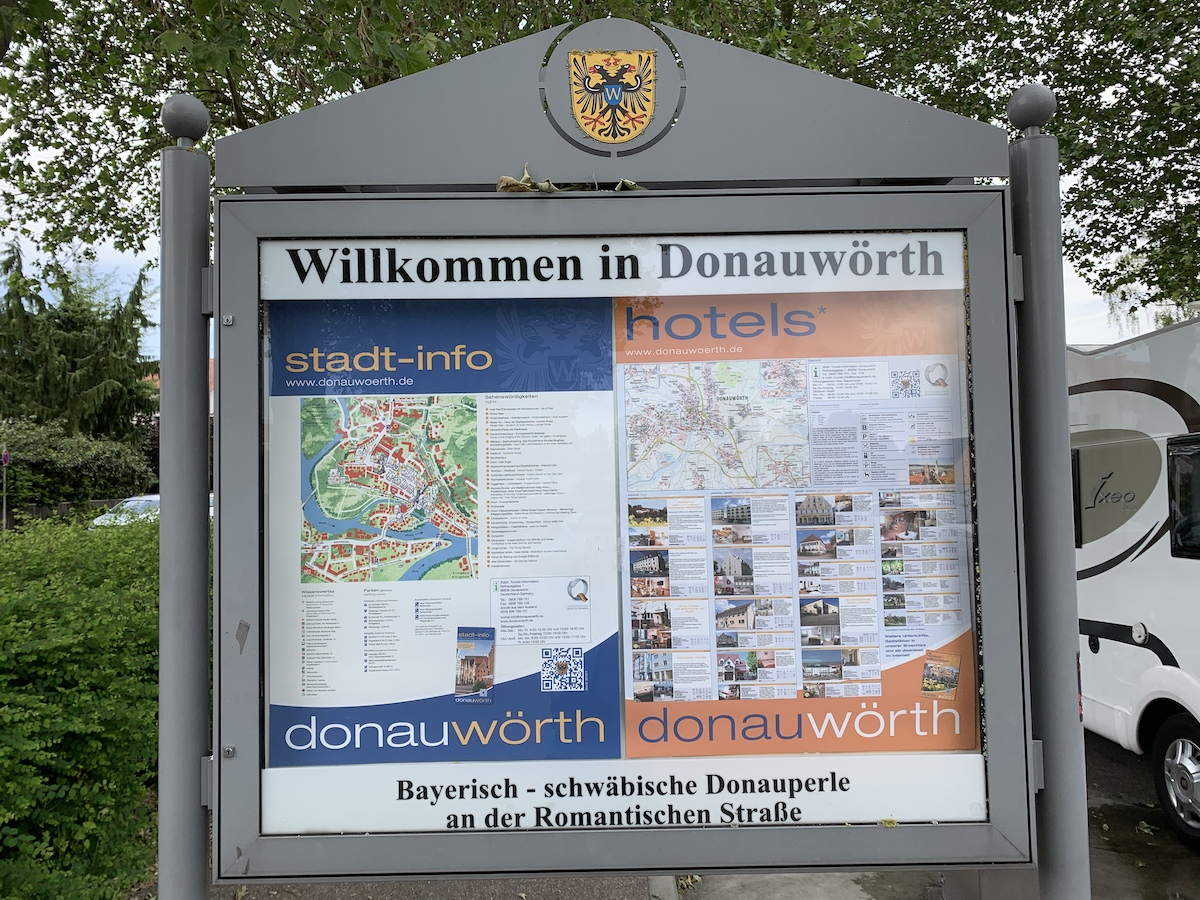 You are currently viewing Stellplatz in Donauwörth