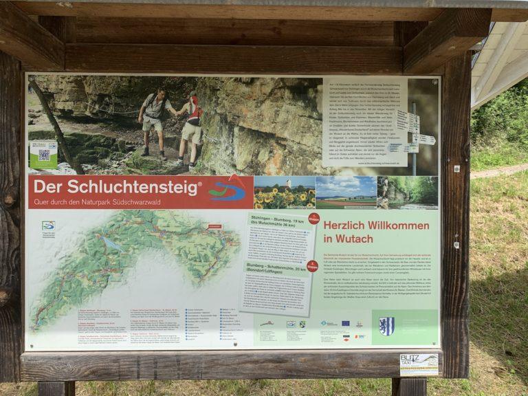 Read more about the article Parkplatz zur Übernachtung an der  Wutachmühle