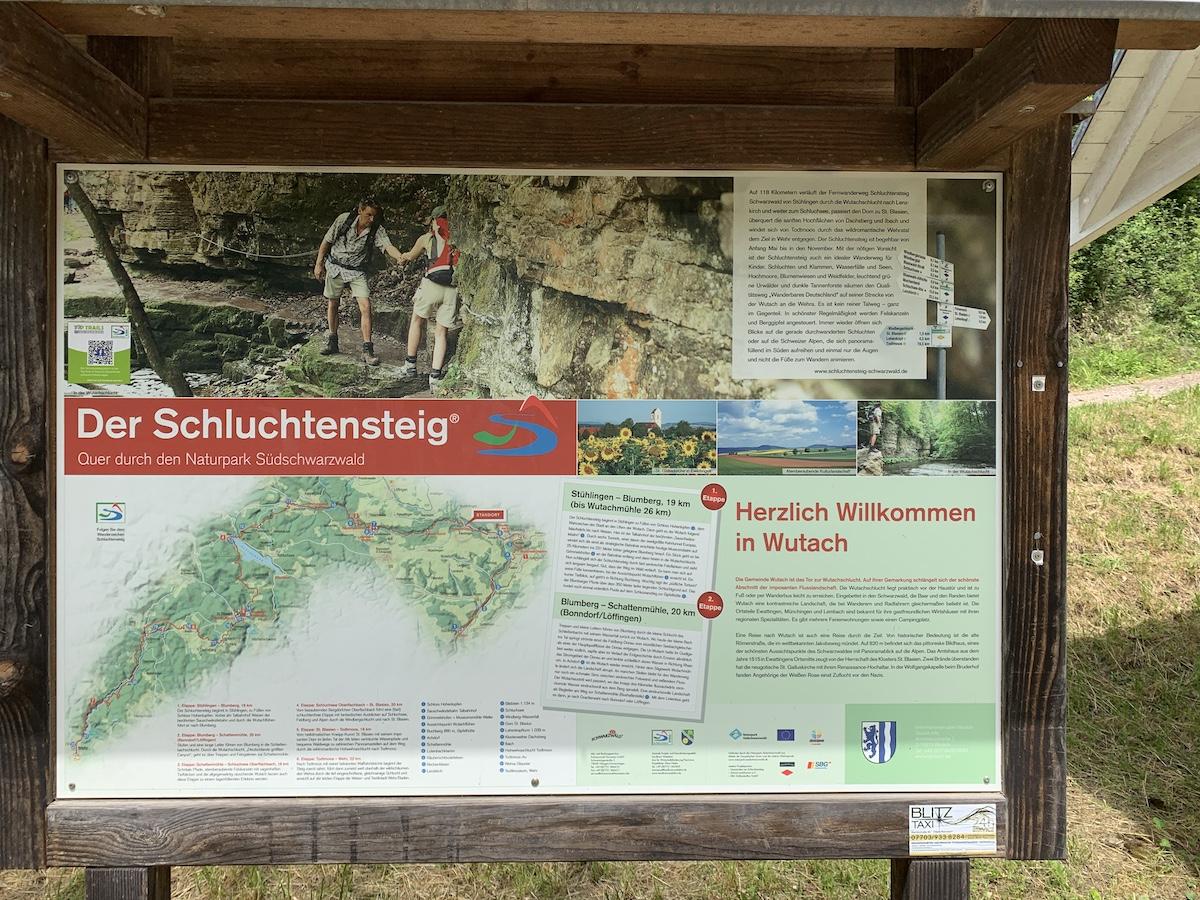 You are currently viewing Parkplatz zur Übernachtung an der  Wutachmühle