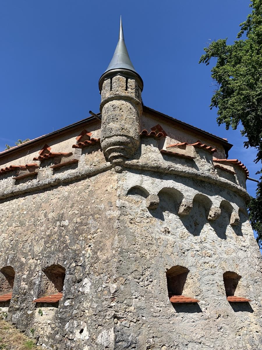 Schloss Lichtenstein (Württemberg) – Romantisches Märchenschloss