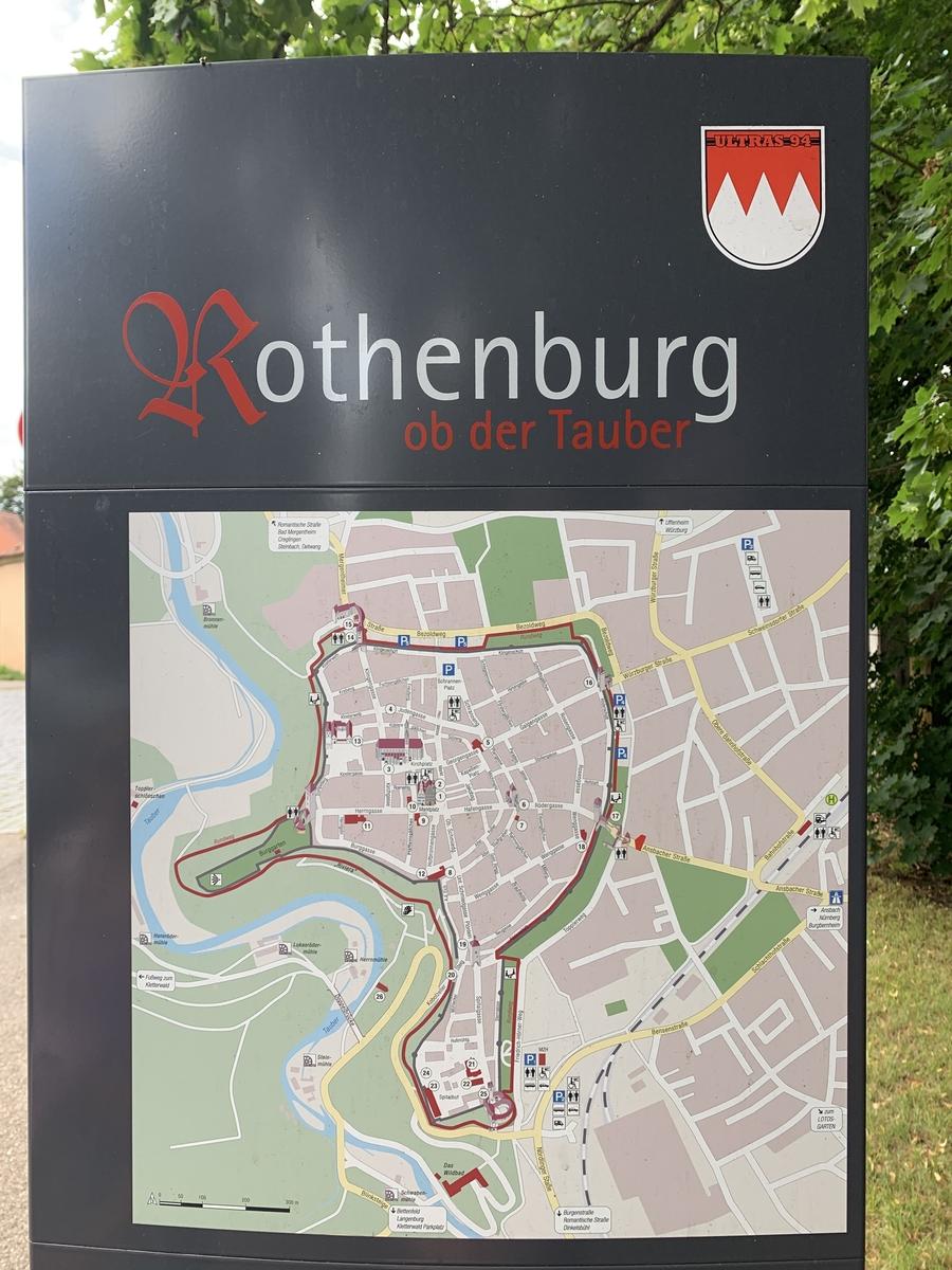 Rothenburg ob der Tauber – Zurück ins Mittelalter