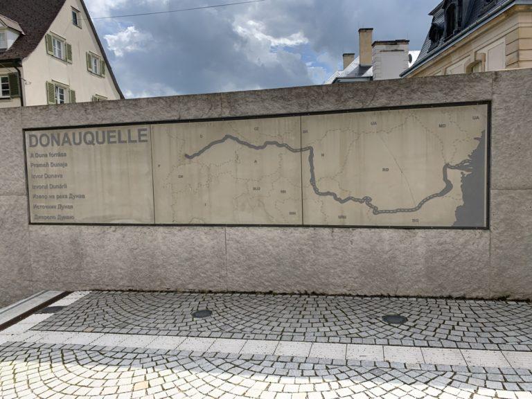 Donaueschingen – Geburtsort der jungen Donau