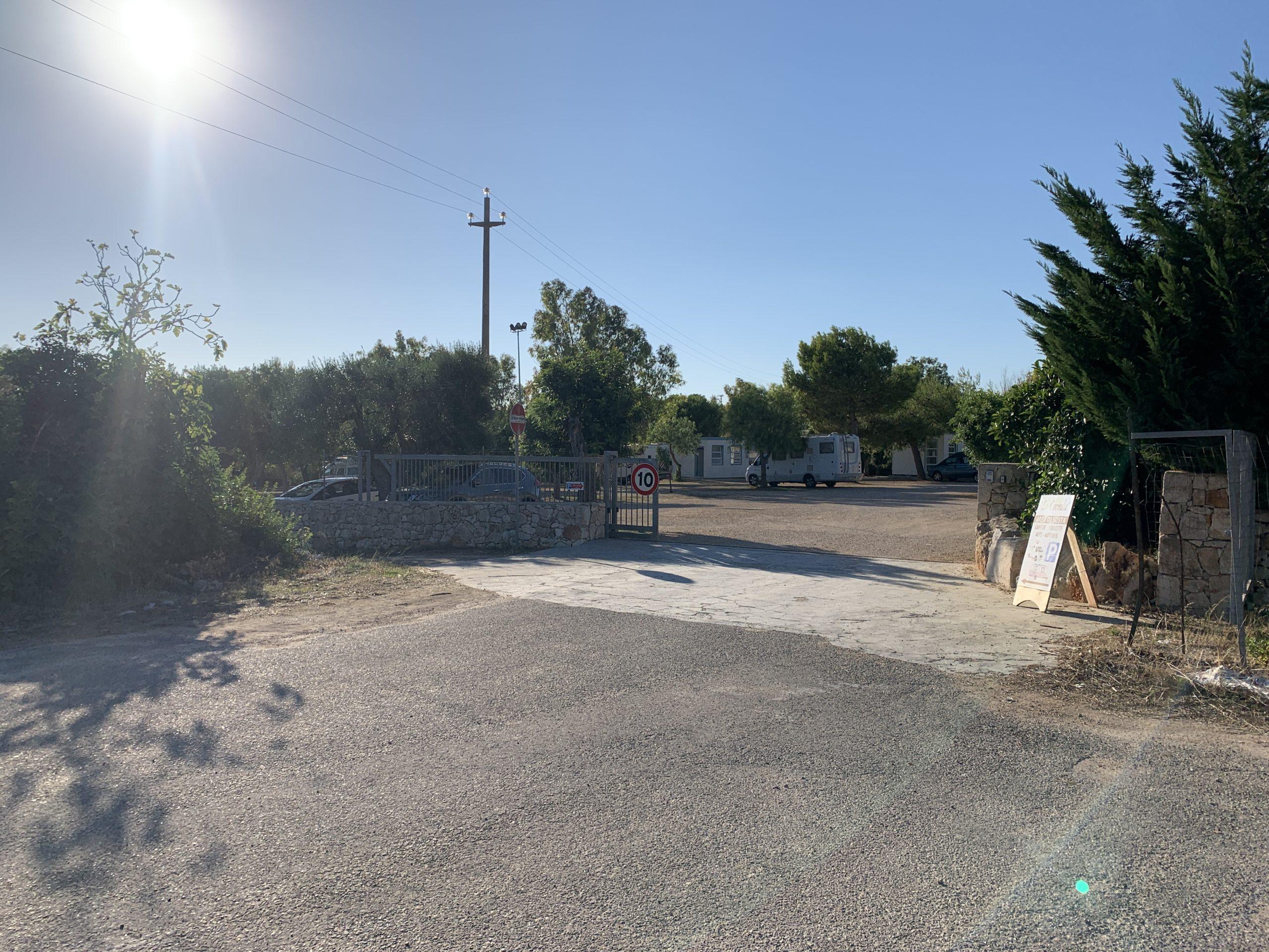 Stellplatz Santa Maria di Leuca