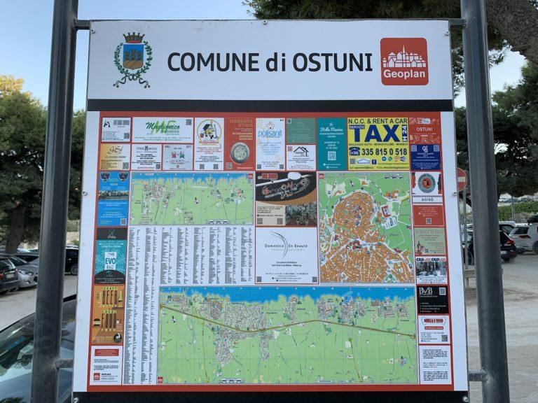 Stellplatz Ostuni Stadt