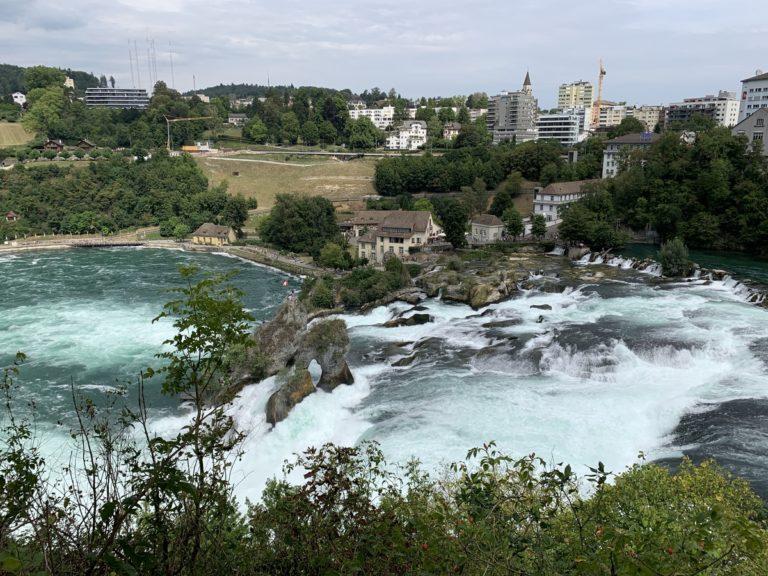 Der Rheinfall – einer der größten Wasserfälle Europas