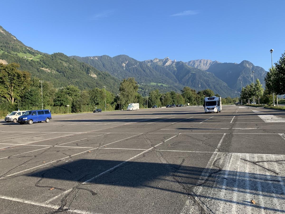 Stellplatz Vaduz