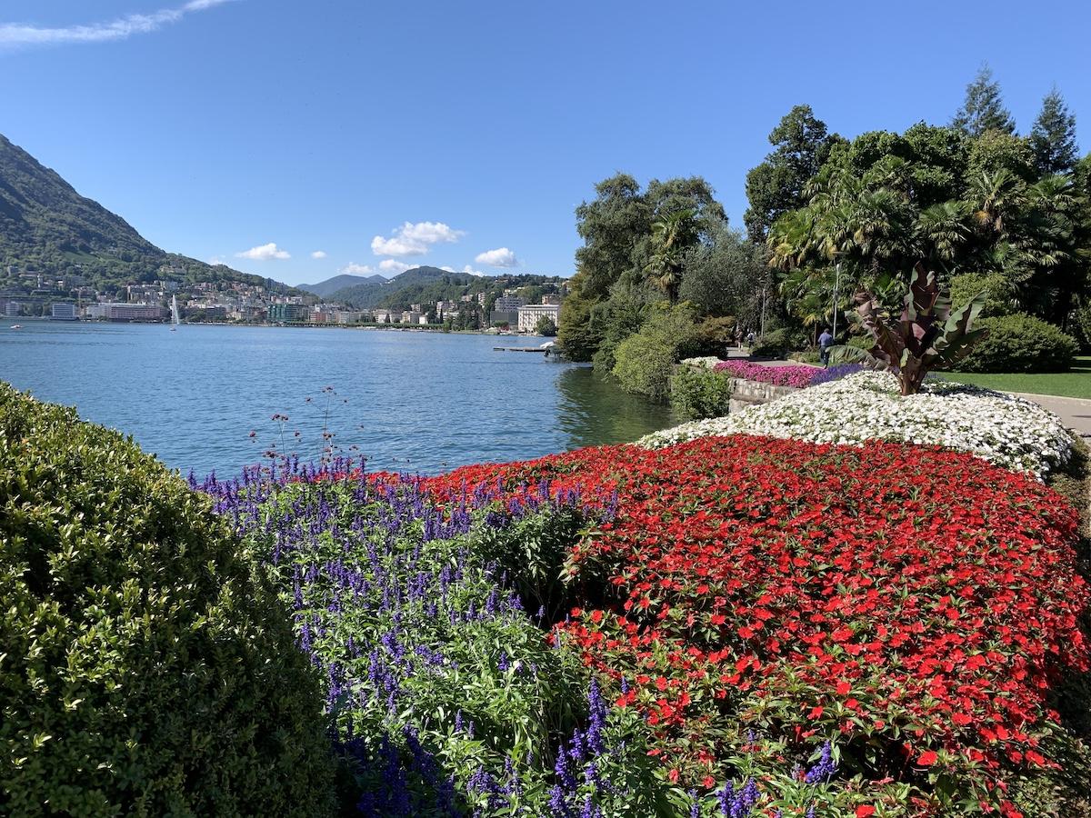 Lugano (Tessin) – Mediterranes Flair in der Schweiz