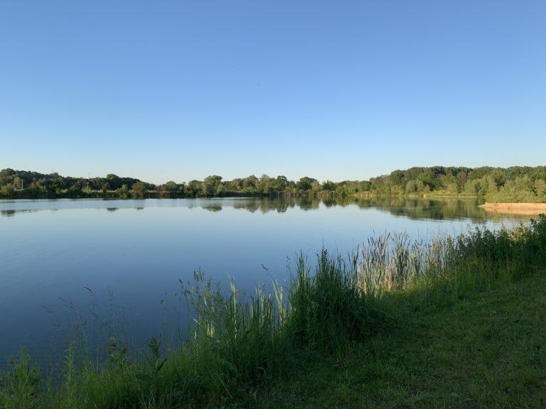 Übernachtungsplatz bei Erbach – Donaurieder See