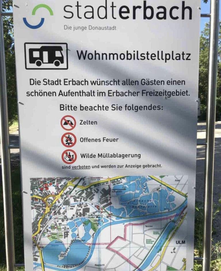 Stellplatz in Erbach