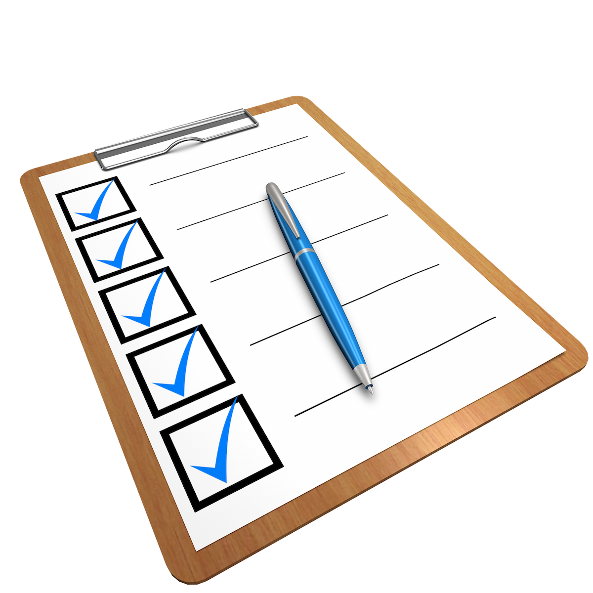 You are currently viewing Checkliste vor der Abfahrt