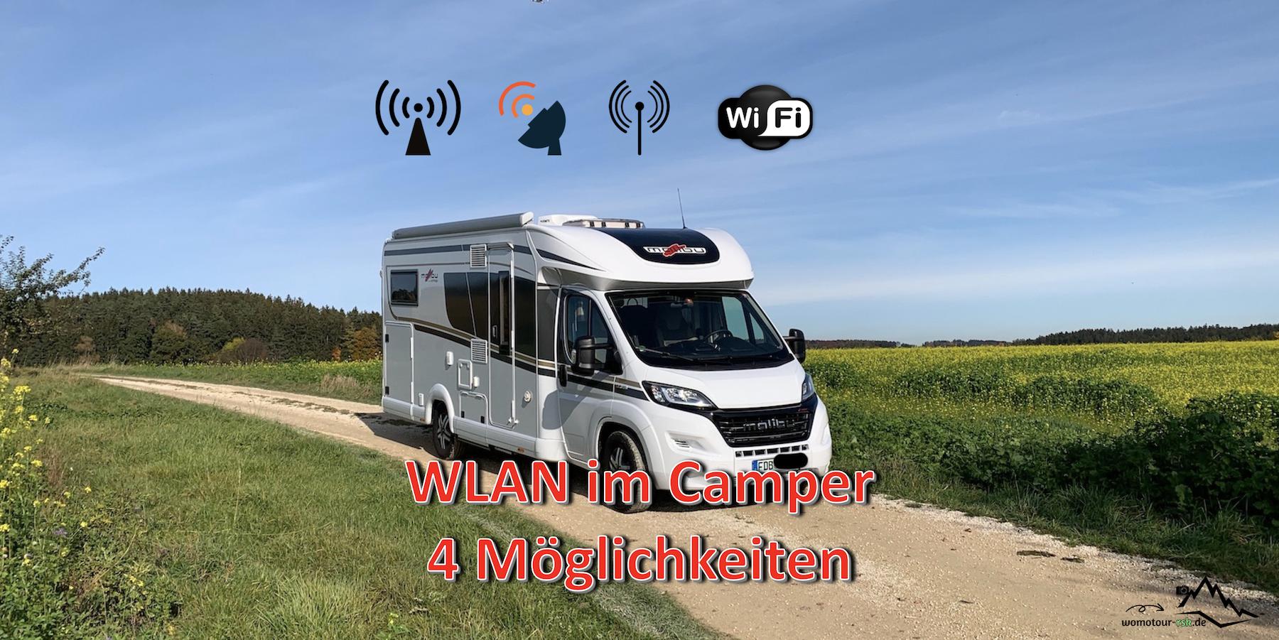 WLAN im Camper und Wohnmobil