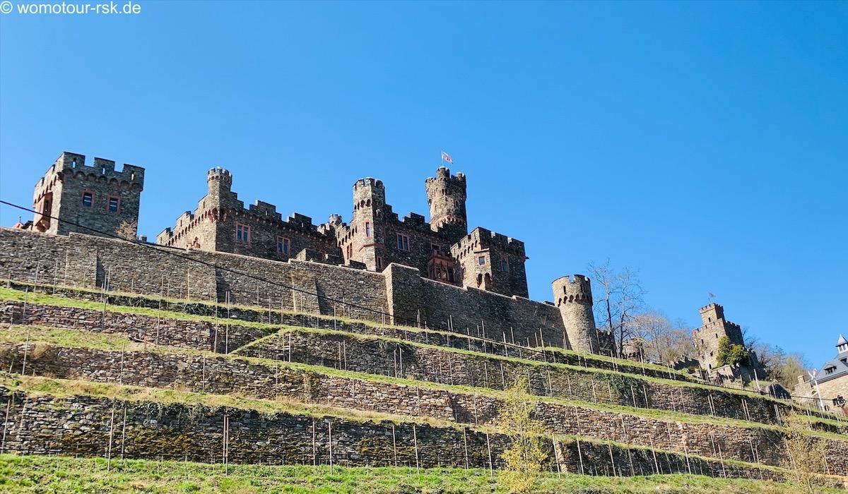 Burg Reichenstein – Wildromantisch gelegen