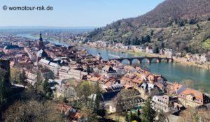 Heidelberg – romantische Stadt am Neckar
